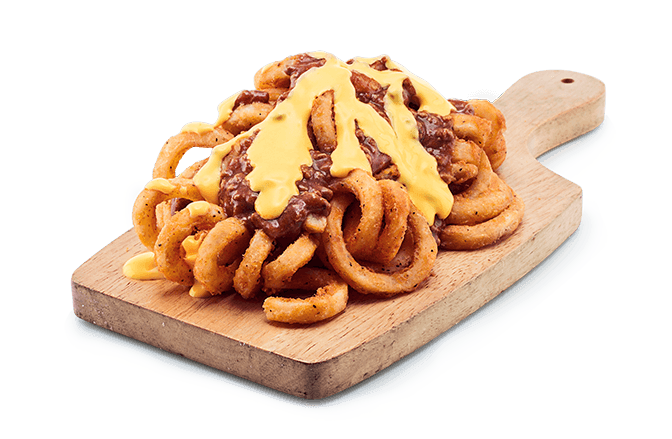 Chicken/Beef Coney Cheese Fries