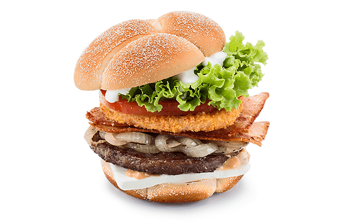 A&W® Cream Cheese Beef Burger