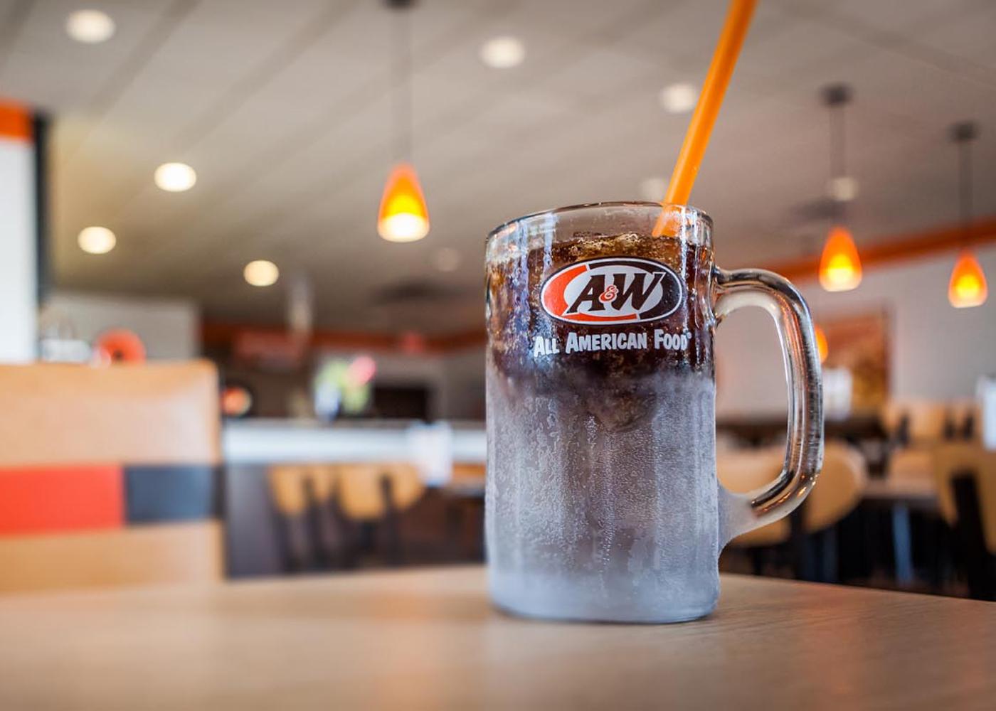 Mug of A&W Root Beer