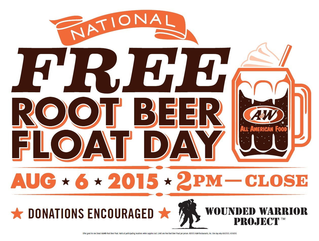 National Root Beer Float Day 2015